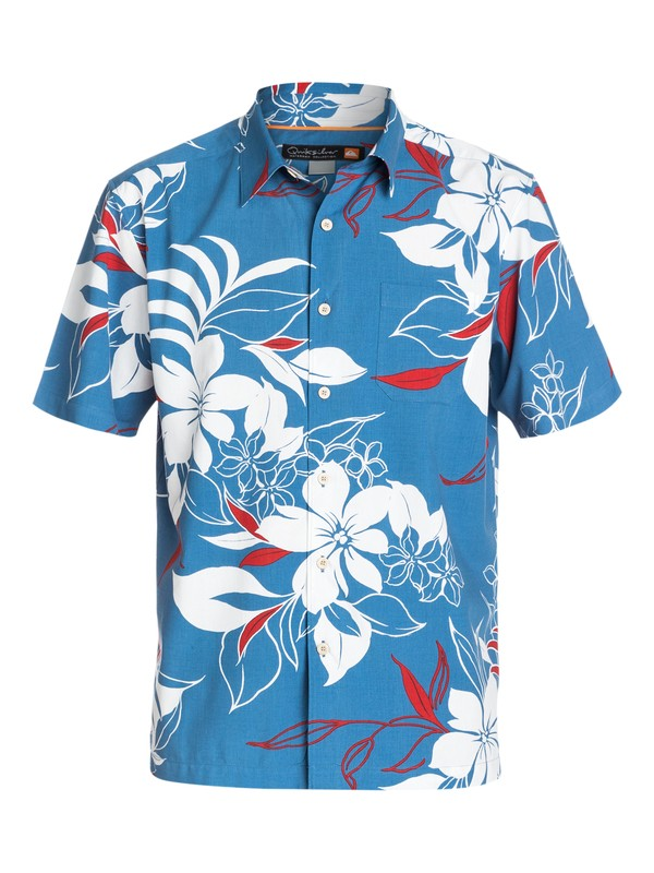 0 Men's The 4th Short Sleeve  Shirt  AQMWT03112 Quiksilver