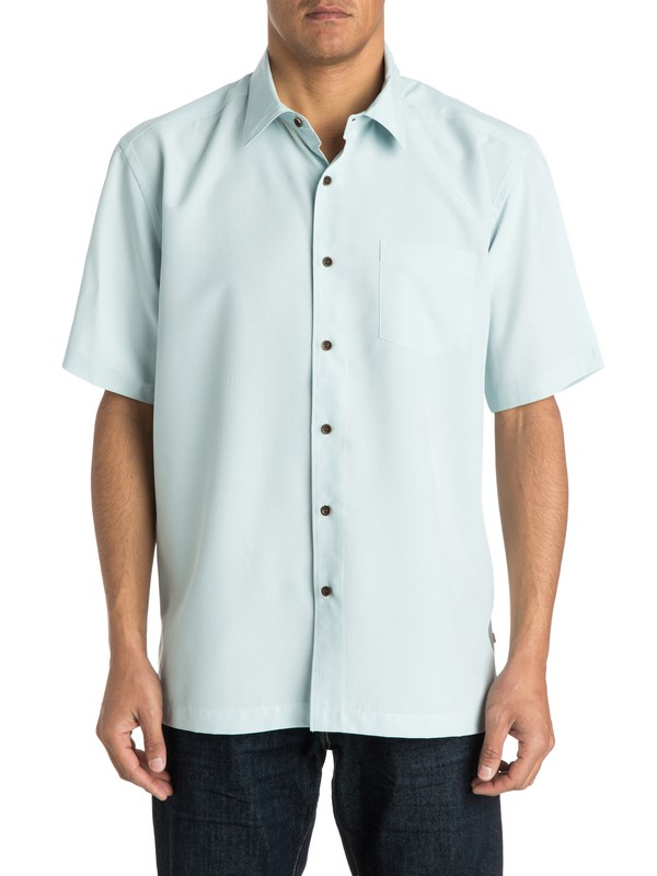 0 Waterman Cane Island Short Sleeve Shirt  AQMWT03113 Quiksilver
