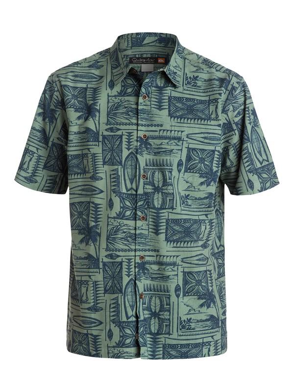 0 Men's Kalae Short Sleeve Shirt  AQMWT03131 Quiksilver