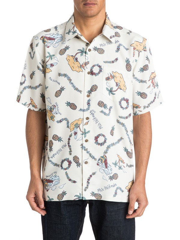 0 Men's Jolly Short Sleeve Shirt  AQMWT03134 Quiksilver