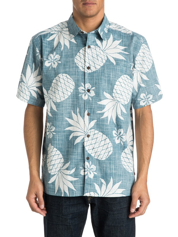 0 Men's Seatac Short Sleeve Shirt  AQMWT03139 Quiksilver