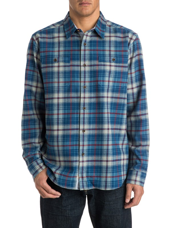 0 Men's Raleigh Long Sleeve Shirt  AQMWT03142 Quiksilver