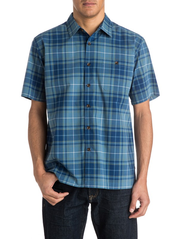 0 Men's Blackies Short Sleeve Shirt  AQMWT03154 Quiksilver