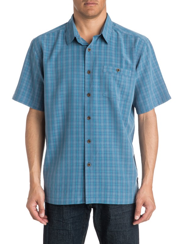0 Mens Banyon Short Sleeve Shirt  AQMWT03165 Quiksilver