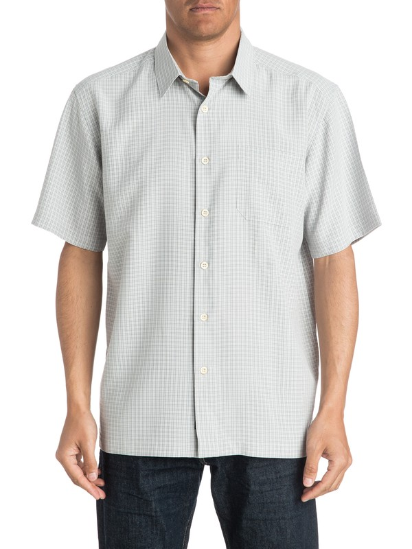 0 Waterman Buoy Short Sleeve Shirt  AQMWT03166 Quiksilver
