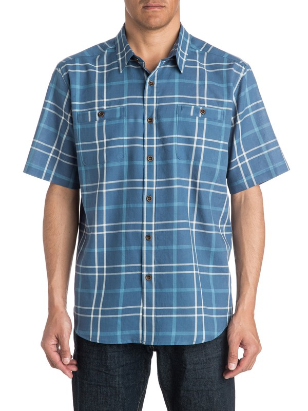 0 Mens Mitchell Short Sleeve Shirt  AQMWT03170 Quiksilver