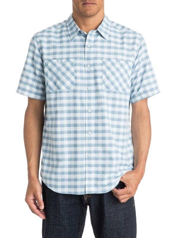 0 Waterman Wake - Short Sleeve Shirt  AQMWT03171 Quiksilver