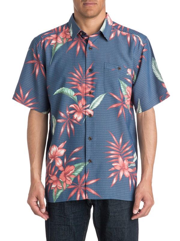 0 Waterman Kealoha - Short Sleeve Shirt  AQMWT03176 Quiksilver