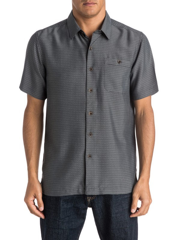 0 Waterman Marlin  Shirt Black AQMWT03185 Quiksilver