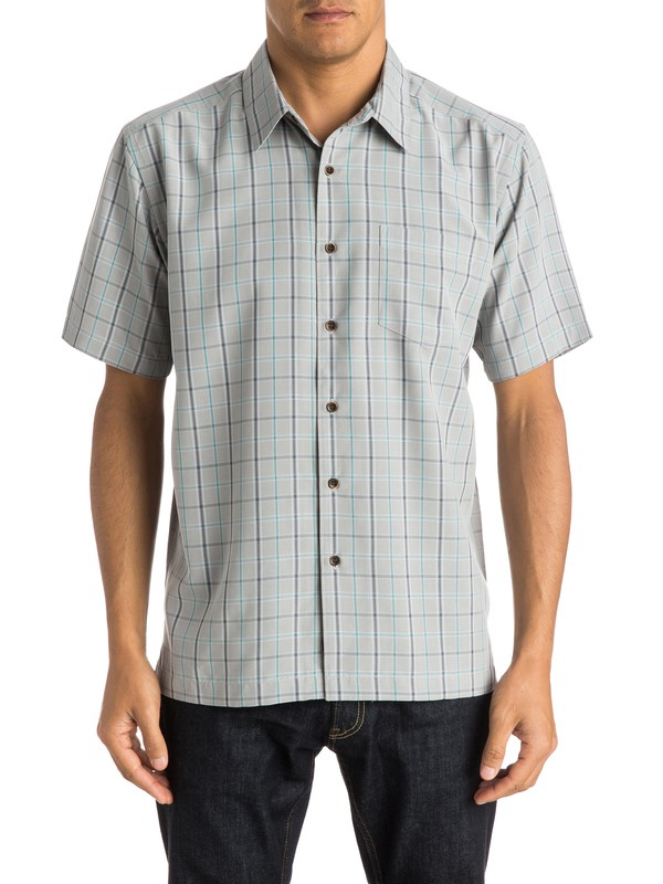 0 Waterman Malindi - Short Sleeve Shirt  AQMWT03198 Quiksilver