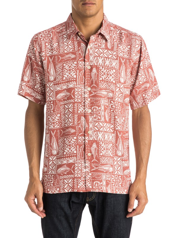 0 Waterman Sage Advice - Short Sleeve Shirt  AQMWT03223 Quiksilver