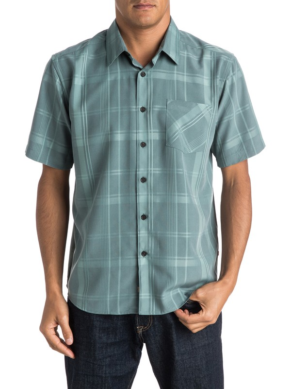 0 Waterman Clear Path Short Sleeve Shirt  AQMWT03241 Quiksilver