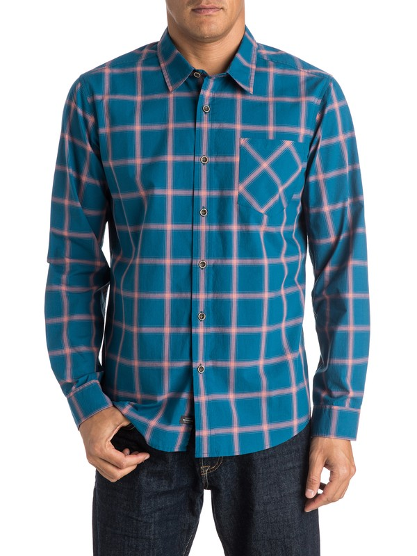0 Hombres Camisa Manga Larga  Home Stretch  AQMWT03244 Quiksilver