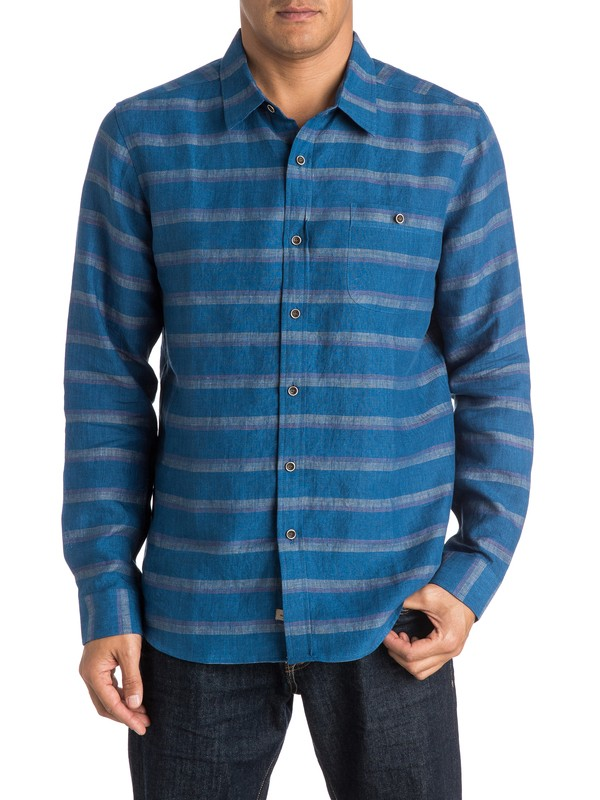 0 Waterman Grahamstown Long Sleeve Shirt  AQMWT03245 Quiksilver