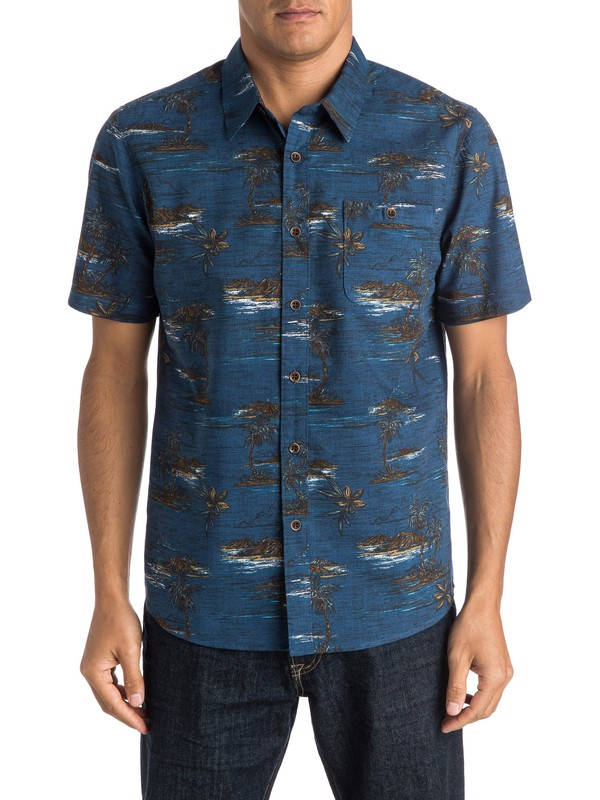 0 Waterman Soothsayer Short Sleeve Shirt  AQMWT03253 Quiksilver