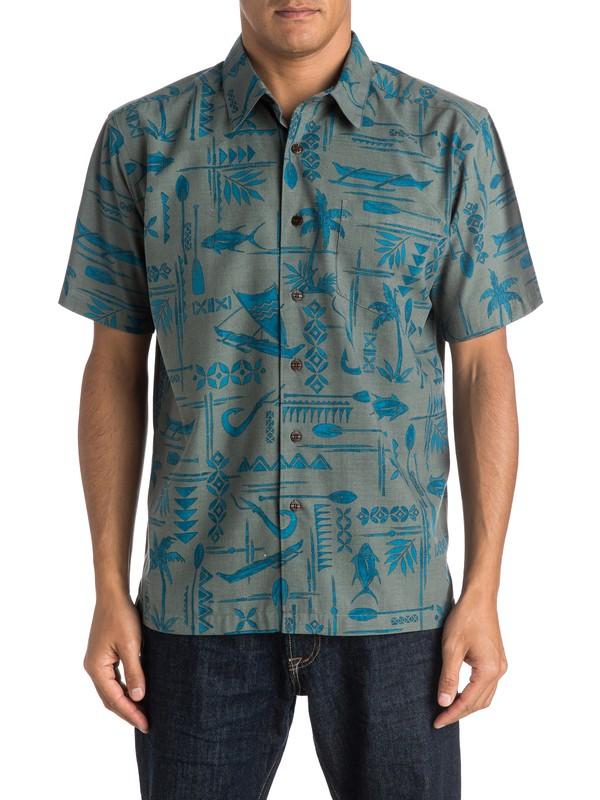 0 Waterman Aberdeen Short Sleeve Shirt  AQMWT03255 Quiksilver