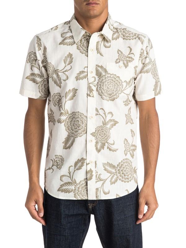 0 Waterman Happy Hour Short Sleeve Shirt  AQMWT03256 Quiksilver