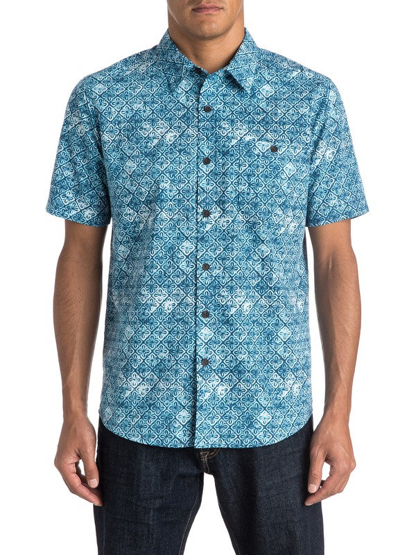 0 Waterman Mundaka Short Sleeve Shirt  AQMWT03257 Quiksilver