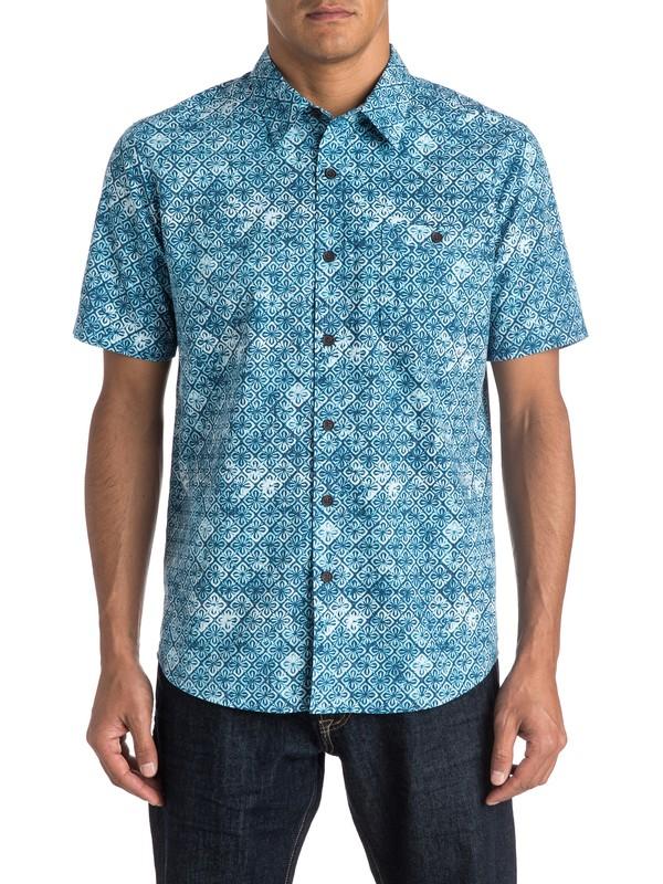 0 Waterman Mundaka Short Sleeve Shirt  AQMWT03257 Quiksilver
