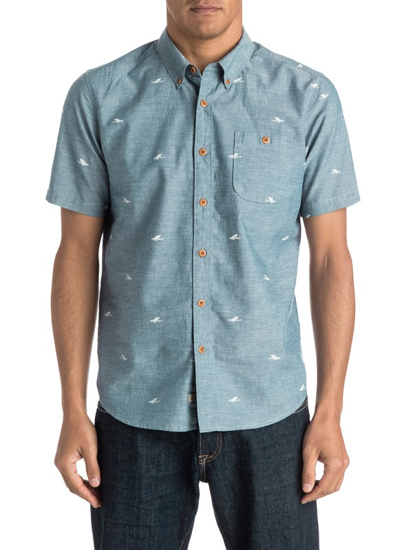 0 Waterman Post Haste Short Sleeve Shirt  AQMWT03258 Quiksilver