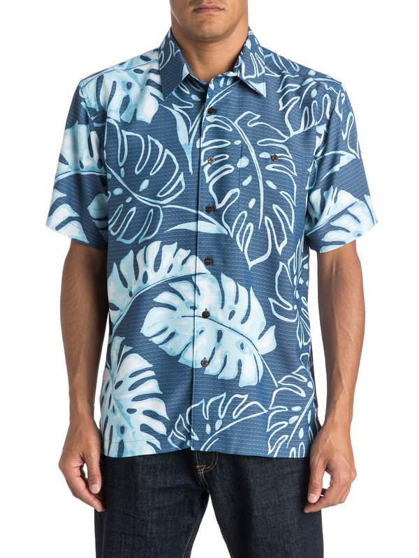 0 Waterman Taravao Short Sleeve Shirt  AQMWT03270 Quiksilver