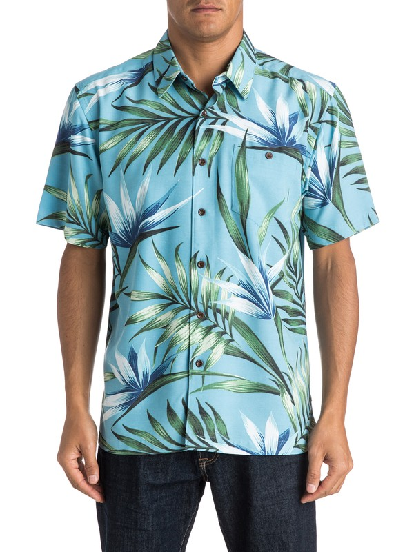 0 Waterman Mahina Short Sleeve Shirt  AQMWT03271 Quiksilver