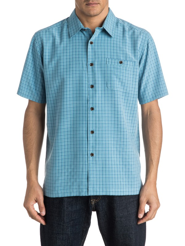 0 Waterman Outboard Short Sleeve Shirt  AQMWT03299 Quiksilver