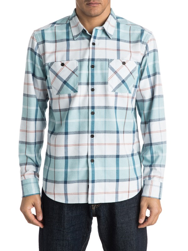 0 Waterman Day Hike - Long Sleeve Shirt  AQMWT03302 Quiksilver