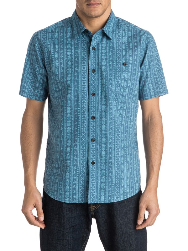 0 Waterman Panacea Short Sleeve Shirt  AQMWT03306 Quiksilver