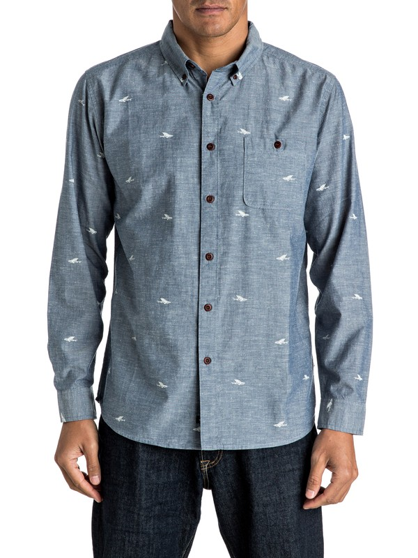 0 Waterman Post Haste - Long Sleeve Shirt  AQMWT03309 Quiksilver