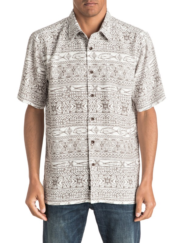 0 Waterman Pina Arvo Short Sleeve Shirt  AQMWT03318 Quiksilver
