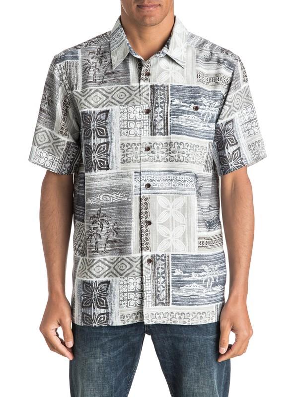 0 Waterman Tropic Beats - Short Sleeve Shirt  AQMWT03323 Quiksilver