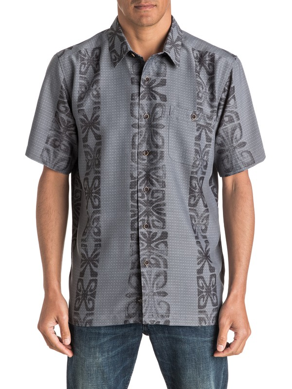 0 Waterman Tribal Rave - Short Sleeve Shirt  AQMWT03324 Quiksilver
