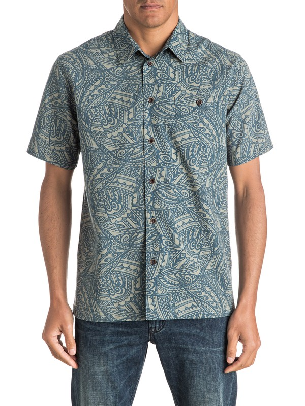0 Waterman Big Cruiser - Short Sleeve Shirt  AQMWT03325 Quiksilver