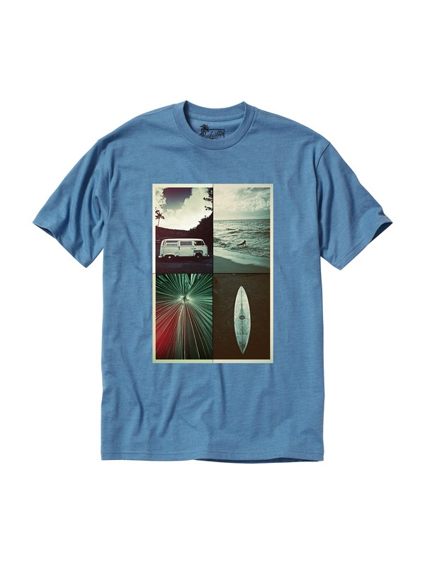 0 Men's Quad T-Shirt  AQMZT00014 Quiksilver