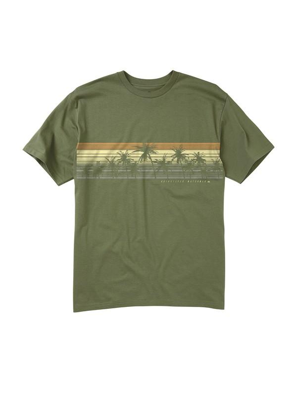 0 Men's Horizon Line T-Shirt  AQMZT00058 Quiksilver