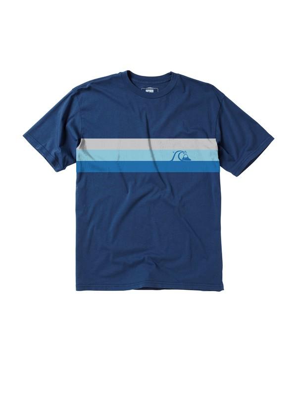 0 Men's Short Division T-Shirt  AQMZT00059 Quiksilver