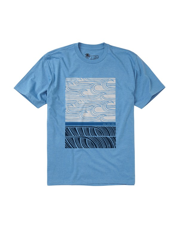 0 Men's Outer Banks T-Shirt  AQMZT00065 Quiksilver