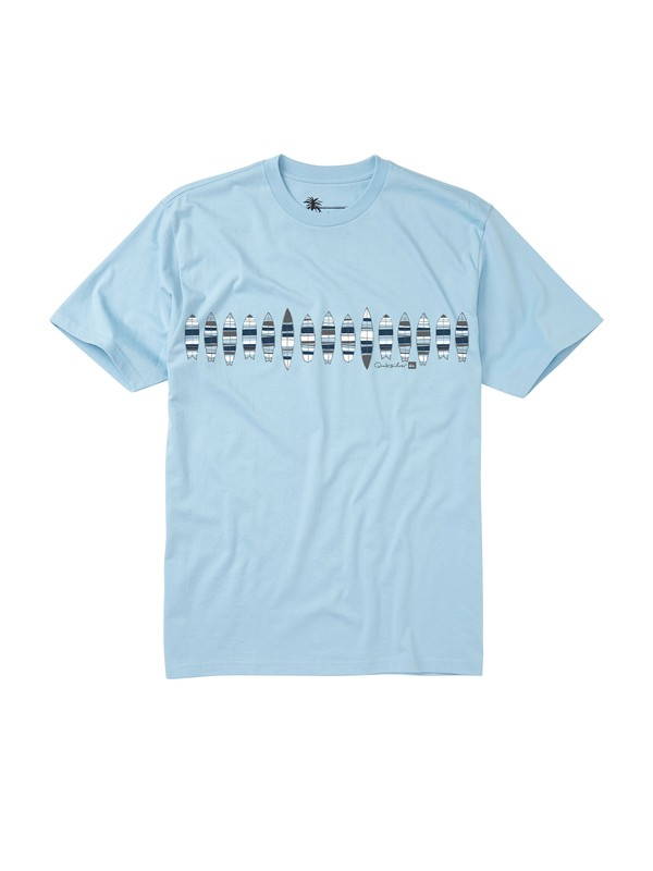 0 Men's Quivers T-Shirt  AQMZT00068 Quiksilver