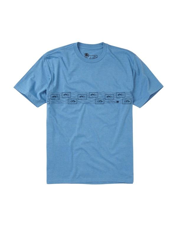 0 Men's Paliea Point T-Shirt  AQMZT00069 Quiksilver