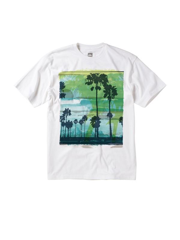 0 Men's Ocean Oasis T-Shirt  AQMZT00089 Quiksilver