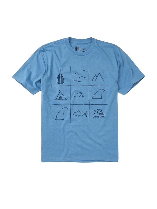 0 Men's Outer Edge T-Shirt  AQMZT00093 Quiksilver