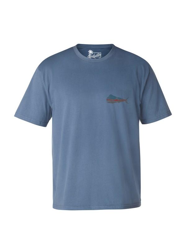 0 Men's Big Bull Mahi T-Shirt  AQMZT03007 Quiksilver
