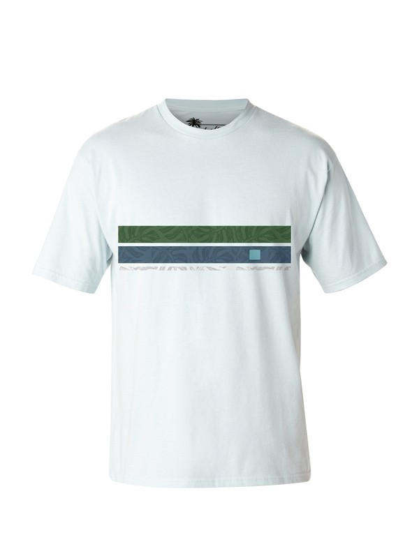 0 Men's Island Time T-Shirt  AQMZT03011 Quiksilver