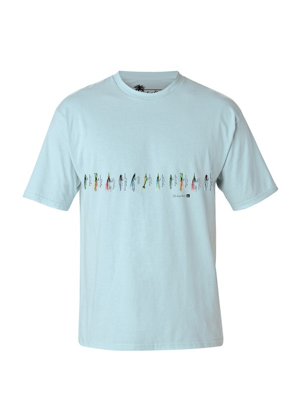 0 Men's Lures T-Shirt  AQMZT03013 Quiksilver