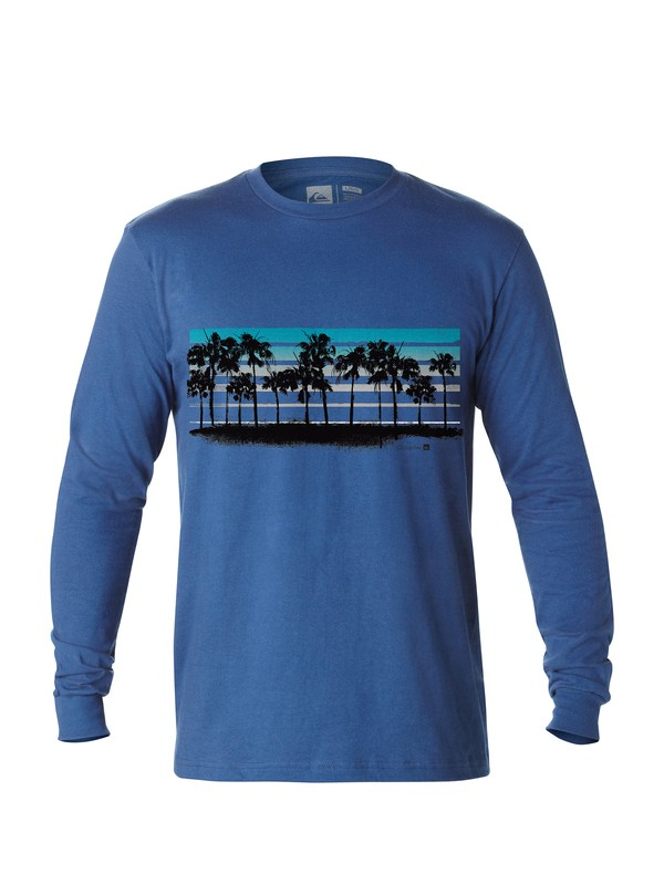 0 Men's Buena Vista Long Sleeve T-Shirt  AQMZT03015 Quiksilver