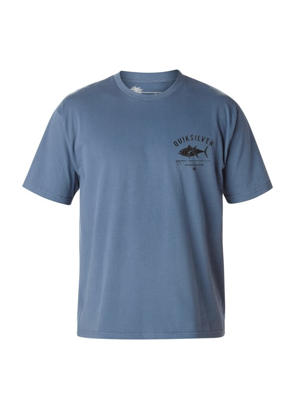 0 Men's Big Eye T-Shirt  AQMZT03023 Quiksilver