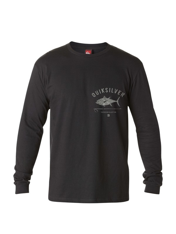 0 Men's Big Eye Long Sleeve T-Shirt  AQMZT03030 Quiksilver