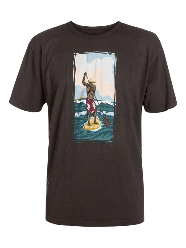0 Men's Paddler T-Shirt  AQMZT03034 Quiksilver
