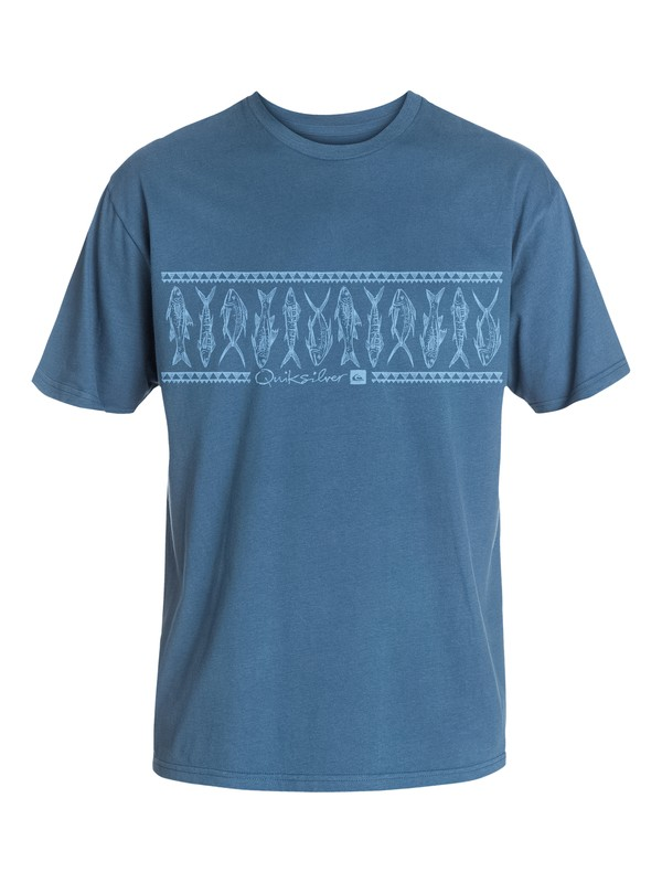 0 Men's Fishsticks T-Shirt  AQMZT03054 Quiksilver